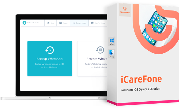 Tenorshare iCareFone Crack 7.5.1.0 for macOS 2021 Free Download